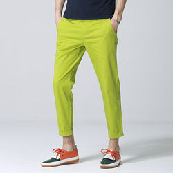 Ankle High Casual Pants - Young Men's Clothing CO.