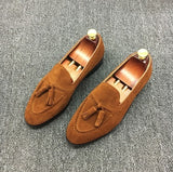 Suede Leather Loafer - Young Men's Clothing CO.