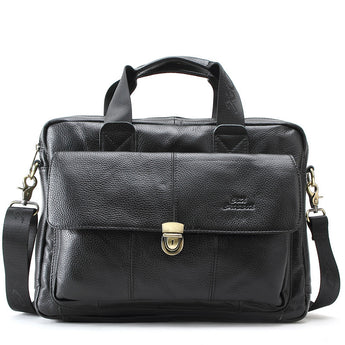 Leather Men's Messenger Bag - Young Men's Clothing CO.