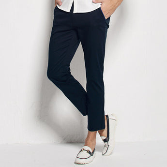 Slim Fit Ankle Length Pants - Young Men's Clothing CO.