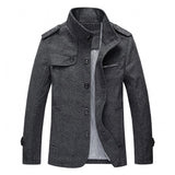 Today's Featured Product - Wool Casual Coat - Young Men's Clothing CO.