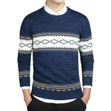 Argyle Pattern Sweater - Young Men's Clothing CO.