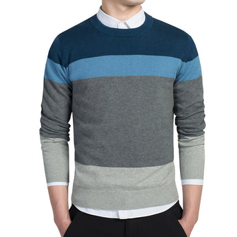 Casual Pullover Sweater - Young Men's Clothing CO.