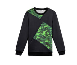 Camouflage Sweatshirt - Young Men's Clothing CO.