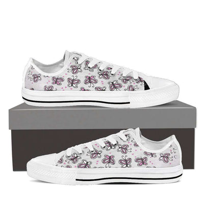 Butterfly Low Top Canvas Shoes