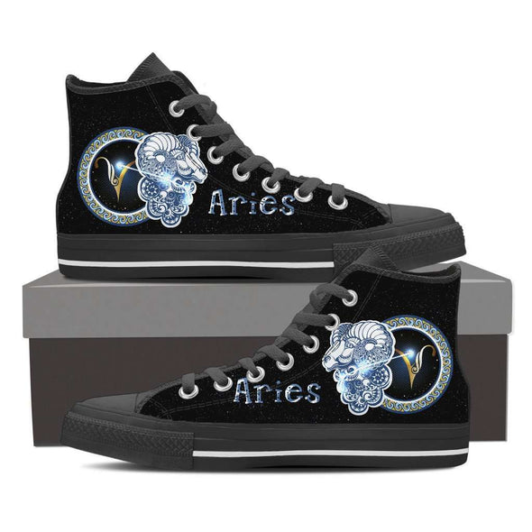 Limited Edition Aries High Top Canvas Shoes