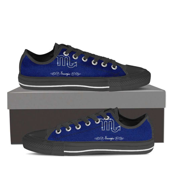 Limited Edition Scorpio Low Top Canvas Shoes