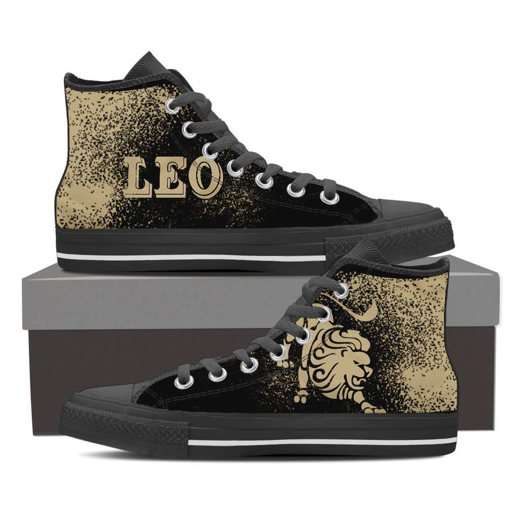 Limited Edition Leo High Top Canvas Shoes