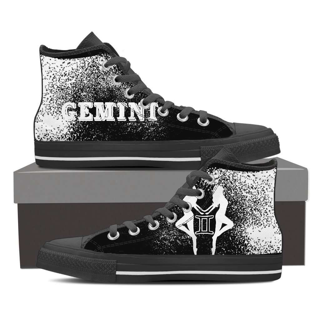 Limited Edition Gemini High Top Canvas Shoes