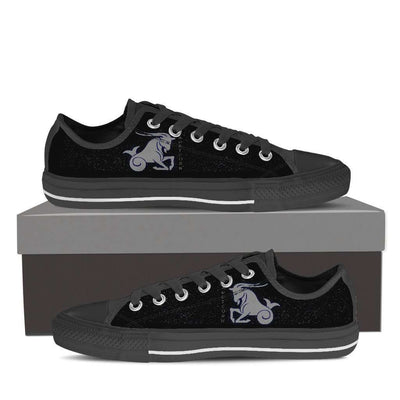 Capricorn Low Top Canvas Shoes