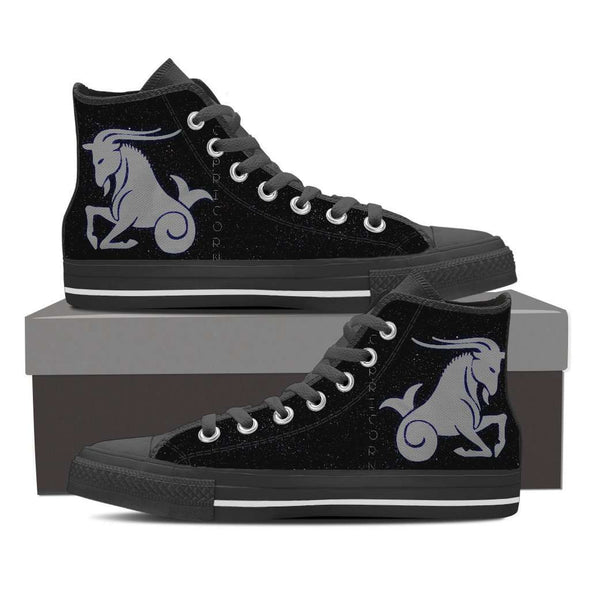 Capricorn High Top Canvas Shoe