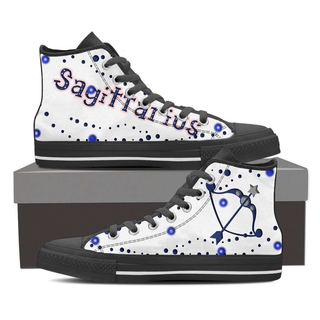 Sagittarius Men's Canvas Shoes