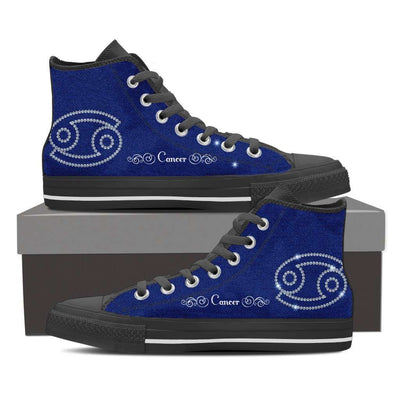 Cancer High Top Canvas Shoe