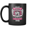 July Women Who Loves Camera Mug