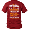 Limited Edition ***September Girl Sweet As Tea Back Print*** Shirts & Hoodies