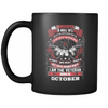 Veteran Born In October Mug