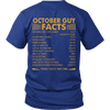 Limited Edition ***October Guy Facts Back Print*** Shirts & Hoodies