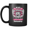 January Women Who Loves Camera Mug
