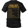 Limited Edition ***June Guy Facts Back Print*** Shirts & Hoodies