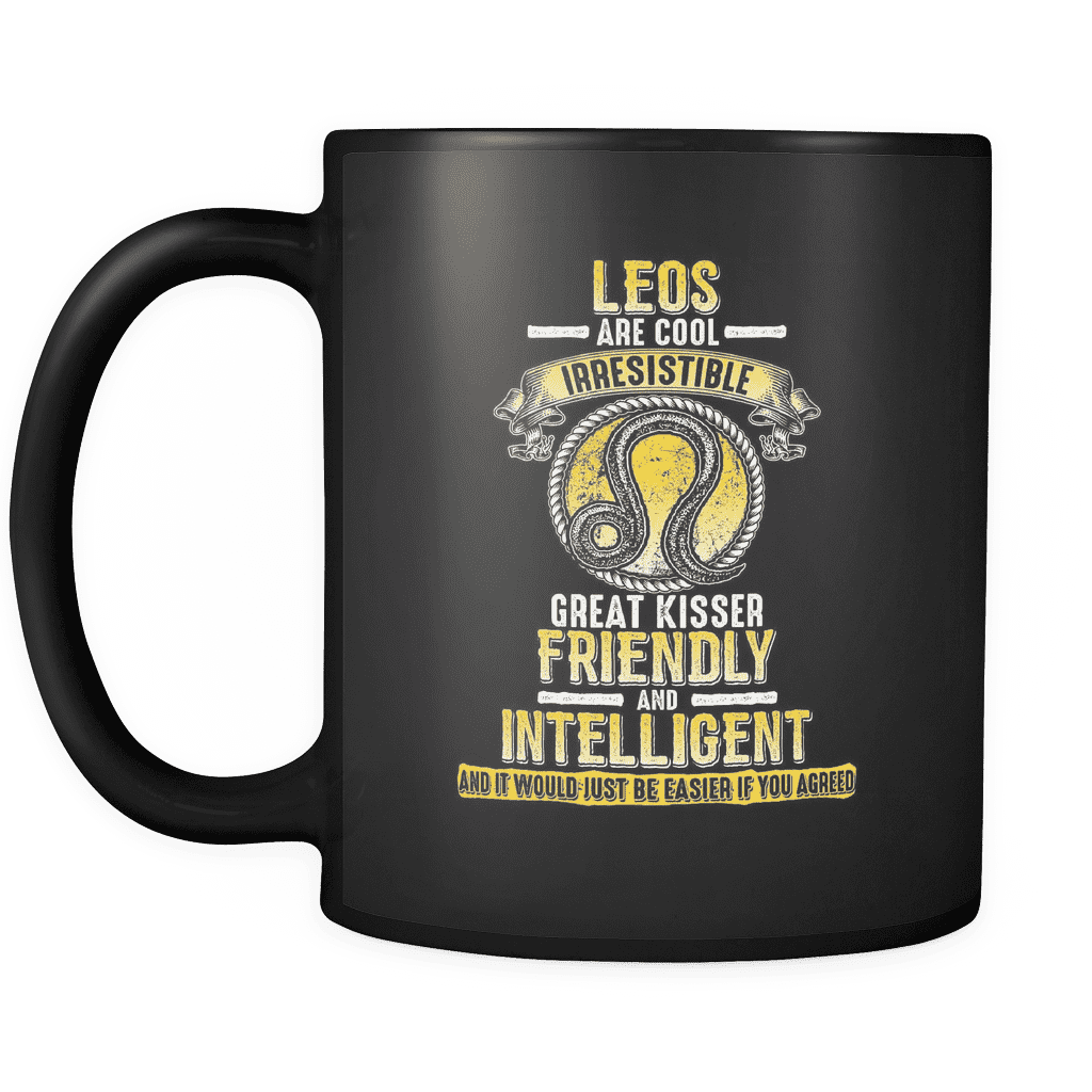 Easier If You Agree Leo Mug