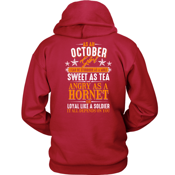 Limited Edition ***October Girl Sweet As Tea Back Print*** Shirts & Hoodies
