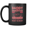 Daddy Daughter - Heart to Heart Mug