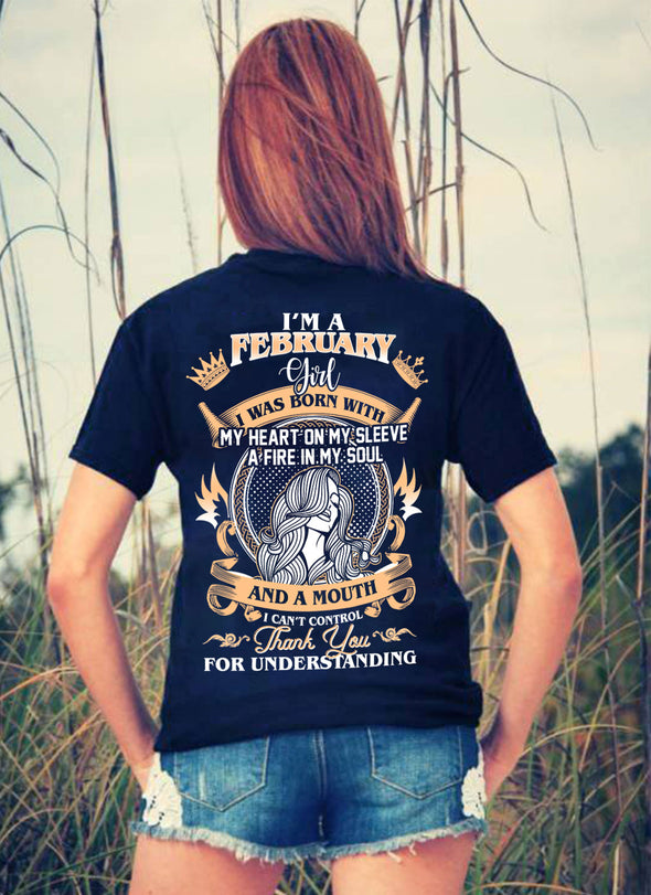 New Edition **Girl Born In February** Shirts & Hoodies