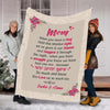 """This Blanket Has Our Hugs & Kisses""  Nana/Papa/Dad/Grandpa/Grandma/Mom/Grandpa & Grandma Customized Blanket With Grand Kids/Kids Name"