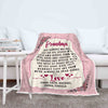 We Are Always In Your Heart Custom Blanket For Granny/Mom/Grandpa/Grandpa&Grandma With Grand Kids Name