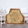 Personalized Mother's Day Gift - I Am Always In Your Heart Customized Blanket For Mom/Grandpa/Grandma/Granny/Papa With Grand Kids/Kids Name