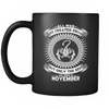 Best Men Are Born In November Mug
