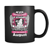 August Women Who Loves Pitbull Mug