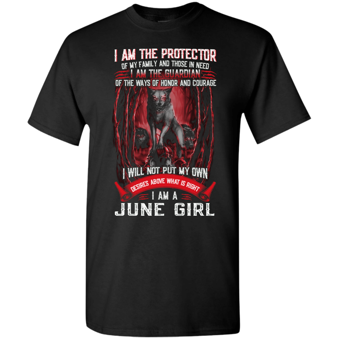 Limited Edition **June Girl The Protector & The Guardian** Shirts & Hoodies