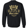 Limited Edition **Kings Are Born In November** Shirts & Hoodies
