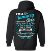 Newly Launched**January Girl Back Print Shirts & Hoodies**