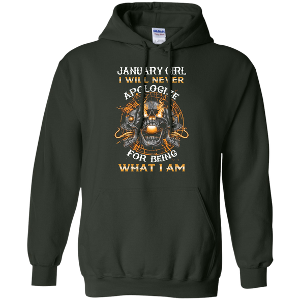New Edition**January Girl Will Never Apologize** Shirts & Hoodies
