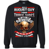 Limited Edition **August Born Guy With Three Side** Shirts & Hodiee