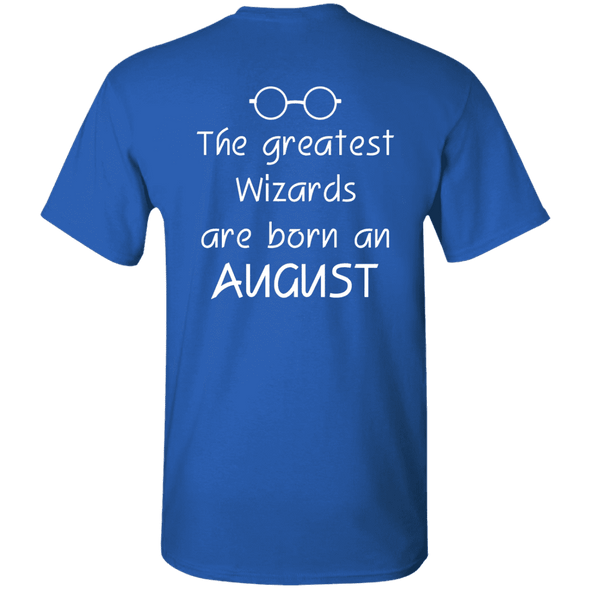 Limited Edition **Wizards Are Born In August** Shirts & Hoodies