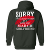 Limited Edition **March Super Sexy Girlfriend** Shirts & Hoodies