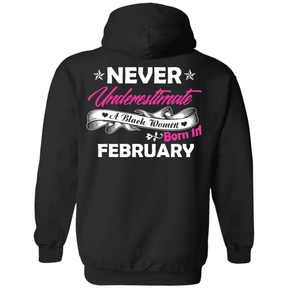 Limited Edition **Black Women Born In February** Shirts & Hoodies
