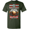 Limited Edition **January Born Guy With Three Side** Shirts & Hodiee