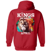 Limited Edition April Born Lion King Shirts & Hoodies