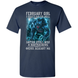 Limited Edition **As A February Girl I Can't Go To Hell** Shirts & Hoodie