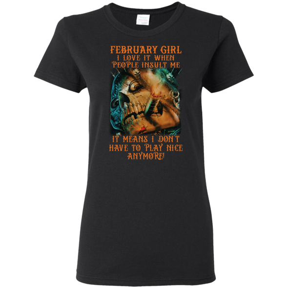 Limited Edition** February Girl Don't Have To Play Anymore** Shirts & Hoodies