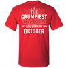 Limited Edition October Grumpiest Old Man Shirts & Hoodies