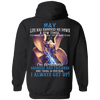 Limited Edition May Born Life Has Knocked Down Shirts & Hoodie