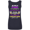 Limited Edition March Sweet Women Back Print Shirts & Hoodies