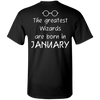 Limited Edition **Wizards Are Born In January** Shirts & Hoodies