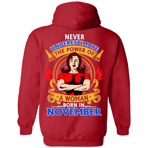 Limited Edition **Power Of Women Born In November** Shirts & Hoodies