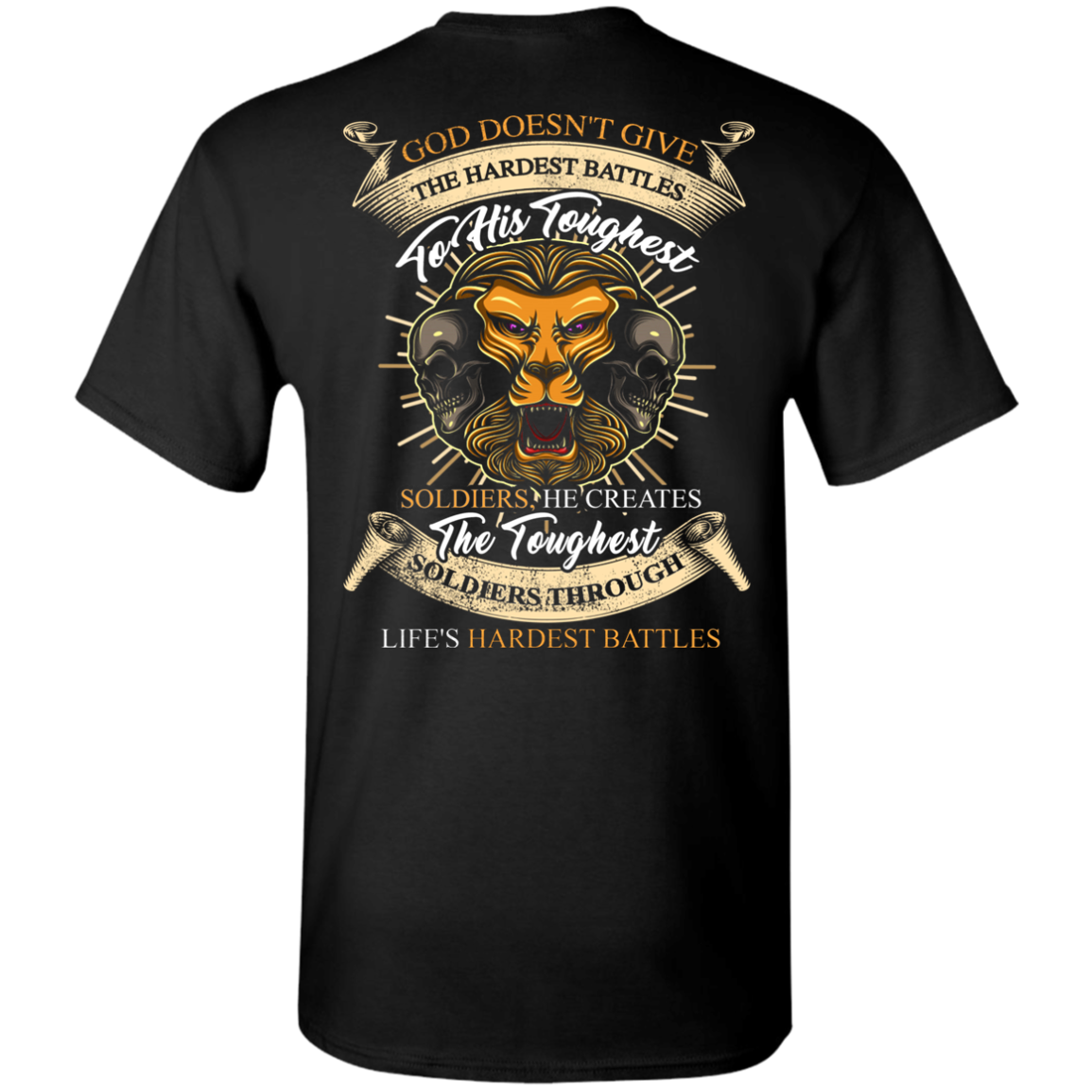 Limited Edition **The Hardest Battles** Shirts & Hoodies